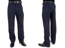 Men in trousers Stock Images