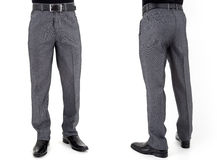 Men in trousers Stock Photography
