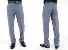 Men in trousers Royalty Free Stock Photography