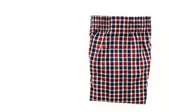 Men underwear. OR Short Boxer for clothing isolated on white background Stock Photography