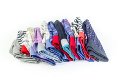 Men underwear,underpants for men. Stack of men underwear isolated on white background,underpants for men Stock Images
