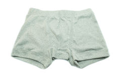 Men underwear on white background Royalty Free Stock Image