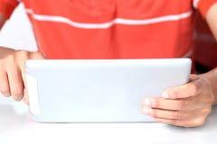 Men using digital tablet Stock Photography