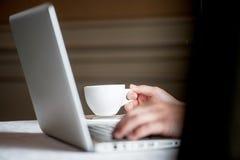 Men using laptop Stock Images