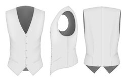Men waistcoat for business men Stock Image