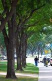 Men Walking. Two unidentified Hispanic (possibly) men walking down the street Royalty Free Stock Image
