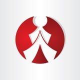 Men walking icon design Royalty Free Stock Images