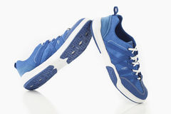 Men water shoes. A pair of men water shoes on white background Stock Photography