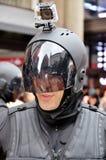 Men wear as a robot Royalty Free Stock Photo