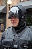 Men wear as a robot Royalty Free Stock Photos