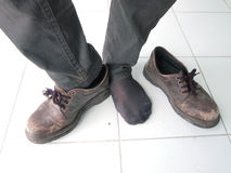 Men wear of shoes Royalty Free Stock Photo