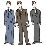 Men Wearing Formal Attire. An image of men wearing formal attire Stock Photos
