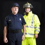 Men Who Serve stock photo