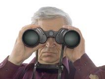 Men With Binoculars Stock Photo