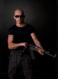 Men With Gun Royalty Free Stock Images