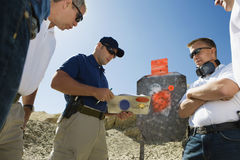 Free Men With Instructor At Combat Training Stock Photo - 29660240