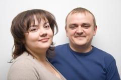 Men and women stock photo