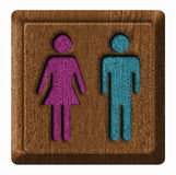 Men and Women tag Royalty Free Stock Photo