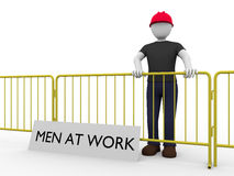 Men at work Stock Photos