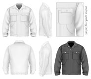 Men work jacket. Royalty Free Stock Photo