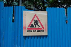 Men at work Royalty Free Stock Photography