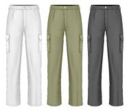 Men work trousers. Stock Photography