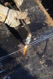 Men at work welder Stock Image