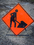 Men working sign Stock Photography