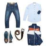 Men& x27; ropa de s Foto de archivo libre de regalías