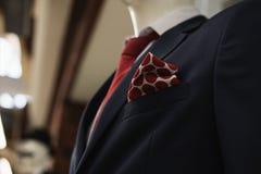 Men& x27; traje clásico de s Fotografía de archivo