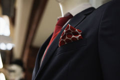 Men& X27;s Classic Suit Stock Photography