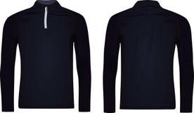 Men zip top jacket. Vector illustration vector illustration