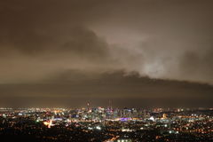 Menace de tempête de Brisbane Photo libre de droits