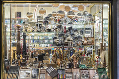 Menage shop in the historical center of Rome, Italy Stock Image