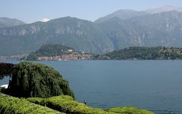 Menaggio et lac Como, Italie Photo libre de droits