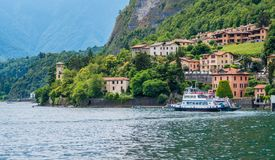 Scenic sight in Menaggio, Lake Como, Lombardy, Italy. stock images
