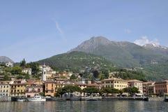 Menaggio sur le lac Como Images libres de droits