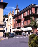 Menaggio town centre. Royalty Free Stock Photography