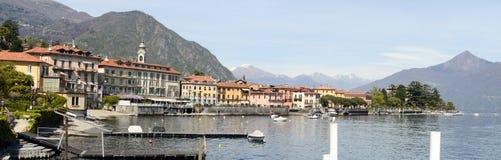Menaggio town at famous Italian lake of Como Royalty Free Stock Photos