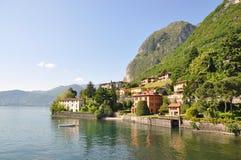 Menaggio town at Italian lake Como Royalty Free Stock Photos