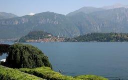 Menaggio und Como See, Italien lizenzfreies stockfoto