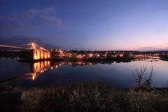 Menai Brücke lizenzfreies stockbild