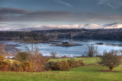 Menai Bridge Stock Photo