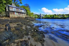 Menai Bridge Stock Images