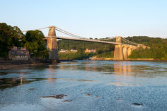 Menai Bridge Royalty Free Stock Photos