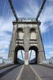 Menai bridge in summer Stock Photos