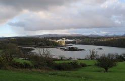 Menai Bridge, Wales Stock Photos