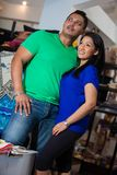Menaka Rajapaksha and Nehara Peiris Stock Images