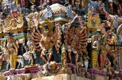 Menakshi Tempel Madurai Stockfoto