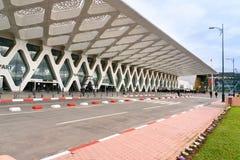 Menara机场在马拉喀什 摩洛哥 库存图片